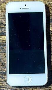 Apple iPhone 5 - 16GB - White & Silver (Verizon) A1429