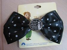The Little Prince Hair Bow Barrette Alligator Clip and Pin Brand New