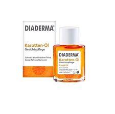 "Diaderma. Carrot Oil. Face Care. Natural  ""sun kissed"" tone"