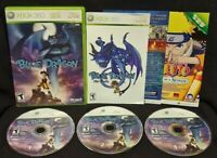 Blue Dragon - XBOX 360 Game - Rare  All 3 discs Rare DragonBall DBZ Working