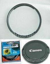For Canon Powershot SX40 HS 58mm Filter Adapter Ring + UV Filter + Lens Cap New