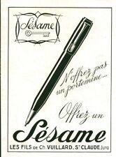 Publicité ancienne stylo porte mine Sésame 1947 issue de magazine