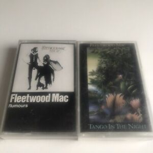 FLEETWOOD MAC RUMOURS AND TANGO IN THE NIGHT CASSETTE TAPES - Tested