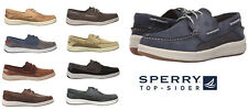 SPERRY Top Sider Men's NEW GameFish 3 Eye Boat Shoes Slip On Leather Shoes