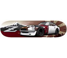 JDM Datsun 280Z Ratsun Limited Skate Deck Garage Art with Wall Mount Kit