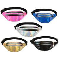 Glitter Sequin Bum Bag Travel Waist Fanny Pack Festival Money Belt Wallet Pouch
