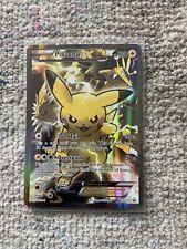 Pikachu EX XY124 Black Star Promo   Rare Holo Full Art Pokemon Card