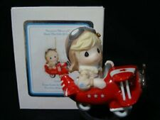 Precious Moments-Airplane Pilot-Your Love Is So Uplifting Ornament-Very Rare!