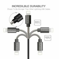 PURIDEA Lightning USB Sync Charger Cable Lead for Apple iPhone 6 6Plus 7+ 5S SE