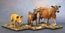 ANIMAL COMPANIONS GOAT, PIG, COW - Reaper Miniatures Dark Heaven Legends - 03719