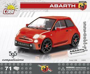 COBI  Abarth 595 Competizione  / 24502 / 71  blocks car  auto toys