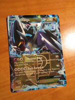 NM Pokemon DIALGA EX Card PLASMA BLAST Set 65/101 Black and White BW Ultra Rare