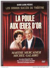 13932 /LES GRANDS SUCCES DU THEATRE LA POULE AU OEUFS D'OR M.MERCADIER/M.GALABRU