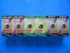 ESHA-SET 2 x Exit 2 x Optima 2 x eSHa 2000 je 20 ml NEU