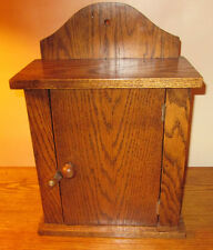 Oak Spice Cabinet, Handcrafted