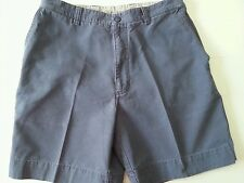 """""""St. Johns Bay"""" Mens Shorts Smoke Blue Waist Size 34 100% Cotton Used Condition"""