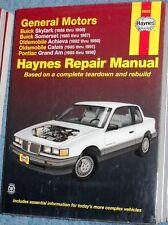 Manuel-GM, Buick skylark, Oldsmobile pontiac Haynes 1985 98 us repair manual