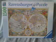 1500 PIECE RAVENSBURGER JIGSAW PUZZLE HISTORIC MAP