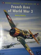 """Osprey Book A of A  """"French Aces of WWII"""""""