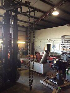 "5/8"" X 20' Rigging Lifting Chain Grab Hooks"