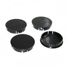 4 Liso Neumático de la Rueda Centro Tapacubos 60mm Funda Inserto para Seat Skoda