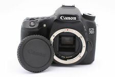 Canon EOS 70D 20.2MP Digital SLR Camera - Black (Body Only) - Shutter Count:1980