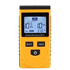 GM3110 Digital Surface Resistance Tester Insulation Resistance Static Detector