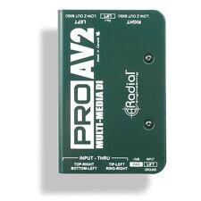 Radial Engineering ProAV2 Stereo DI Swiss Army Knife Multi-media Direct Box
