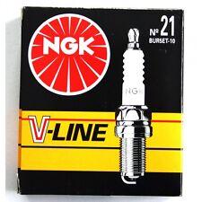 NGK Zündkerze BUR 5 ET-10 V-Line Nr. 21 - BUR5ET-10 VLINE 21 - 5932- 4 Stück