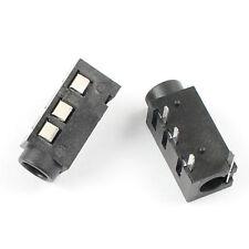100Pcs 3.5mm Female Audio Connector DIP 4 Pin Stereo Phone Jack PJ320A