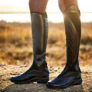 Ariat Ascent Tall Long Riding Boots Black uk 6 RM