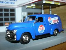 1954 Chevrolet Pepsi Panel Van Truck, 1/43, O Scale, New Unopened