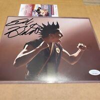 Jacob Bertrand Autograph Signed  8x10 Photo Cobra Kai Hawk Signed JSA COA