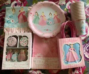 Meri Meri Fairy Princess Party Bundle Plates Napkins Party Bags Cupcake Cases