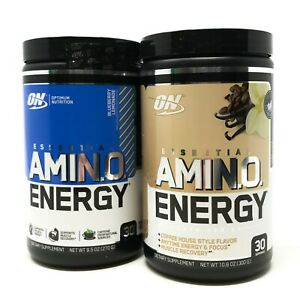 Amino Energy by Optimum Nutrition 30 Servings ON BCAA EAA ALL FLAVORS Preworkout
