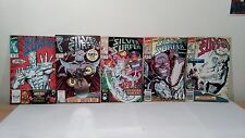 Marvel Comics The Silver Surfer Issues 36, 50, 57, 59, 60 1990-1991 USED