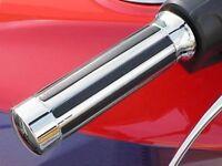 Honda Goldwing Gold Wing 1200 1500 1800 CHROME BUFFALO HAND GRIPS