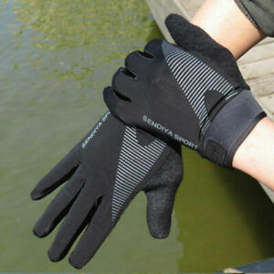 Mountain Bike Bicycle Cycling Full Finger Gloves Riding Touchscreen Glove Summer