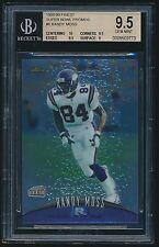 1998-99 Finest Super Bowl Promo #6 Randy Moss BGS 9.5