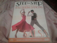 dvd and cd salsa step by step complete guide to ballroom dancing how to dance