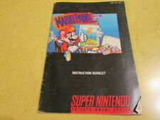 SNES   BOOKLET FOR  THE SUPER NINTENDO GAME MARIO PAINT