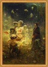 Sadko Ilja Jefimowitsch Repin Nacht Fische Meer Meerjungfrauen Ball B A1 02303