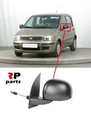 FOR FIAT PANDA 2009 - 2012 NEW WING MIRROR MANUAL BLACK LEFT N/S LHD