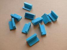 Lego 10 panneaux azur set 3188 41095 3930 3183 / 10 medium azur panel