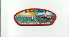B SCOUT BSA 2005 JSP LA SALLE COUNCIL NATIONAL JAMBOREE PATCH INDIANA SAIL CANOE