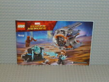 LEGO® Super Heroes Bauanleitung 76102 Thor's Weapon Quest ungelocht B2745