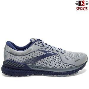 Brooks Adrenaline GTS 21 'Grey Cobalt Blue' Men's Running Shoes | 1103491D-006