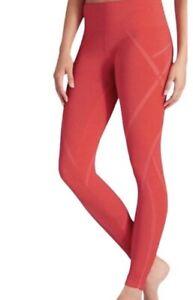 Athleta Women's Seamless Embodiment Coral High Rise Leggings Size XS