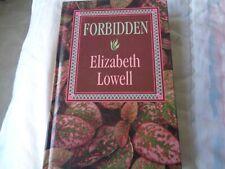 FORBIDDEN (Thorndike Large Print Press) by Elizabeth Lowell HC
