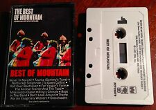 The Best of Mountain Cassette Featuring Leslie West & Felix Pappalardi